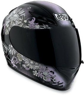 AGV K3 Series Helmet, Black/Pink, Helmet Category: Street, Primary Color: Pink, Helmet Type: Full face Helmets, Size: XS 03215290012004: Automotive