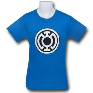 Blue Lantern Big Symbol Blue T Shirt  Small at  Men�s Clothing store