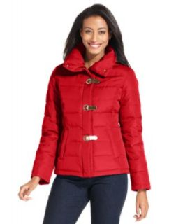 Laundry Coat, Long Sleeve Belted Mixed Quilt Down   Coats   Women