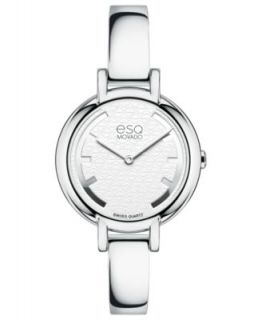 ESQ Movado Womens Swiss ESQ Origin Stainless Steel Bracelet Watch 30mm 07101407   Watches   Jewelry & Watches