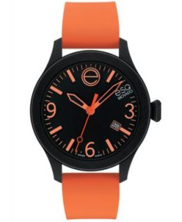 ESQ Movado Watch, Unisex Swiss ESQ One Navy Silicone Strap 43mm 07301441   Watches   Jewelry & Watches