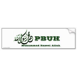 Muhammad Rasool Allah Bumper Sticker