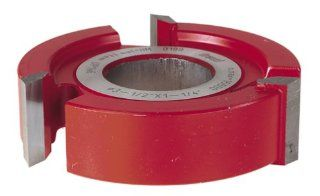Freud UP146 3 Wing 1 Inch Straight Edge Shaper Cutter, 1 1/4 Bore