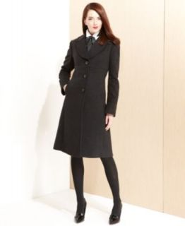 W118 by Walter Baker Coat, Long Sleeve Quilted Faux Leather   Coats   Women