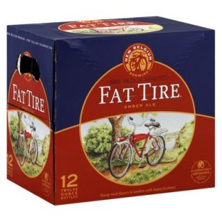 Fat Tire Amber Ale 12 oz, 12 pk