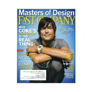 "Fast Company (Issn: 1085 9241) (October 2009   Cover: ""Masters of Design"", Issue # 139): David Butler, Linda Tischler, Jeff Chu, Tim McKeough, Kate Rockford, Aric Chen, Danielle Sacks, Anne C. Lee, Kevin Maney, Dan Heath, Robert Safian, Jake Ches"