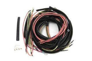 Motorcycle Wiring Harness Kit Electric Start Automotive