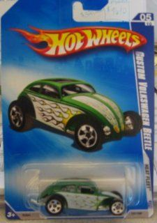 Hot Wheels 2009 Heat Fleet Custom Volkswagen Beetle Kmart Day VW 05/10 121/190 Toys & Games