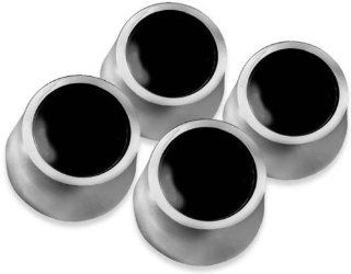 New! Chevy Camaro/Chevelle/El Camino/Nova Wheel Center Caps   4pc, Black 69 70: Automotive