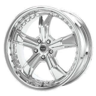 "American Racing Razor AR698 Chrome Wheel (20x9""/5x114.3mm) Automotive"