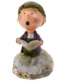 Department 56 Collectible Figurine, Peanuts Village Pig Pen Singing Carols   Holiday Lane