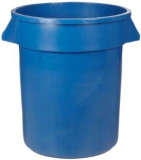 Rubbermaid Commercial FG262073BLUE Brute Plastic Recycling Container without Lid, 20 gallon, Blue Industrial & Scientific