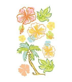 EK Success Vellum Stickers   Island Bliss:
