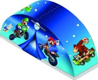 Toy / Play Nintendo Super Mario Action on The Tracks Bed Tent. Canopy, Comforter, Bedding, Mattress Game / Kid / Child: Toys & Games