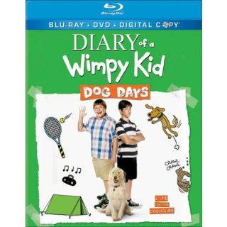Diary of a Wimpy Kid Dog Days (2 Discs) (Blu ra