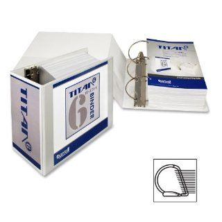 """Samsill   Insertable Binder, D Ring, 6"""" Capacity, 8 1/2""""x11"""", White, Sold as 1 Each, SAM 16427  Office D Ring And Heavy Duty Binders"""