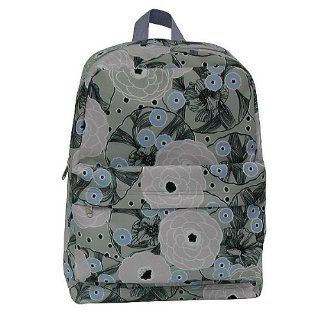 Athletech Girl's Gray pink Floral Backpack w/ Front Pocket NWT Sports & Outdoors