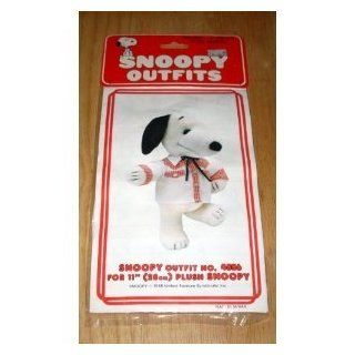 """Peanuts Snoopy Outfits for 11"""" Plush Snoopy   Western Square Dance Shirt & Tie Outfit Toys & Games"""