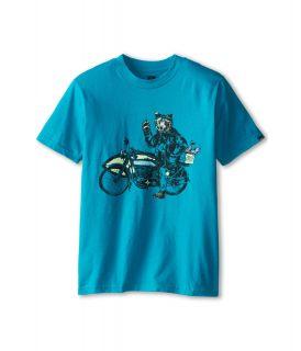 Quiksilver Kids Road Trip Tee Boys T Shirt (Blue)