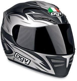 AGV Stealth Shadow Full Face Motorcycle Helmet Blue XXL 2XL 0101 2095 (Closeout): Automotive
