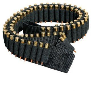 "Ultimate Arms Gear Tactical Stealth Black 180 Round Rifle Ammo Shot Shell Cartridge Hunting Shoulder Bandolier Bandoleer Carrier Holder 60"" Long Fits .223 223 5.56 556 AR15 AR 15 M4 M16 Armalite Dpms Stag Savage Arms : Hunting Targets And Accessories"