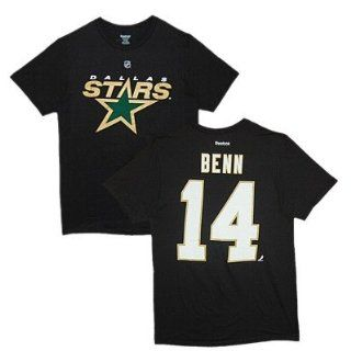 Dallas Stars Jamie Benn Black Name and Number T Shirt Size XL  Football Apparel  Sports & Outdoors