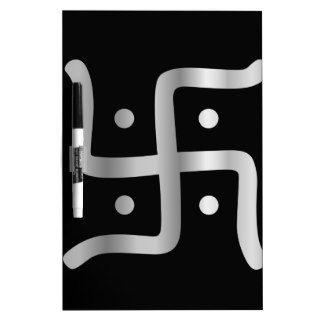 Swastika Symbol of Jainism religion Dry Erase Whiteboards
