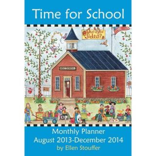 Time for School 2014 Large Monthly Planner Calendar: August 2013 December 2014, Stouffer, Ellen: Literature & Fiction