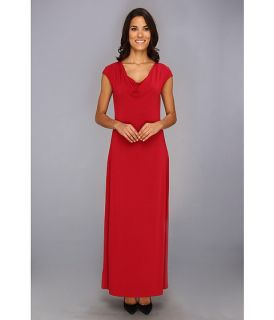Tommy Bahama Tambour Cowl Long Dress