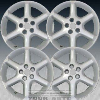 2002 2003 Nissan Maxima 17X7 Factory Replacement Bright Silver Alloy Wheel Set of 4: Automotive