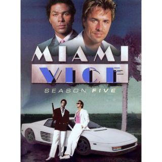 Miami Vice Season Five (5 Discs) (R)
