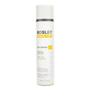 Hair Care   Bosley   Professional Strength Bos Defense Volumizing Conditioner (For Normal to Fine Color Treated Hair) 300ml/10.1oz : Hair Regrowth Conditioners : Beauty
