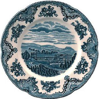 "Johnson Brothers Old Britain Castles Blue Plates 10"" (Set of 6) Kitchen & Dining"