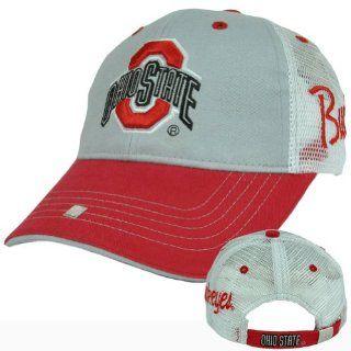 NCAA OSU Ohio State Buckeyes Go Bucks Mesh Licensed Clip Buckle Cotton Hat Cap  Sports Fan Baseball Caps  Sports & Outdoors