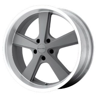 KMC KM701 20x10 Gray Wheel / Rim 5x4.75 with a 18mm Offset and a 72.60 Hub Bore. Partnumber KM70121034418: Automotive
