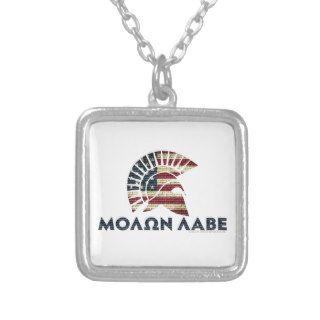 Molon Labe! Personalized Necklace