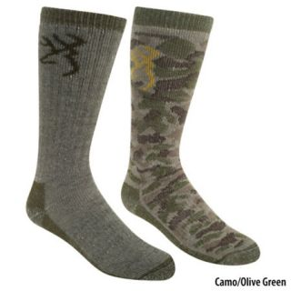 Browning Girls Camo Sock Set 2 Pack 435542