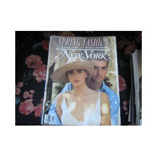 New York Magazine (Spring Fashion Issue..His & hers, The New (Land) Lords Of The PressLeonard Stern, Mort Zuckerman, Peter Kalikow, Arthur Carter): Wendy Goodman: Books