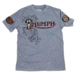 Triumph UHL Tiger T shirt Size Large Automotive