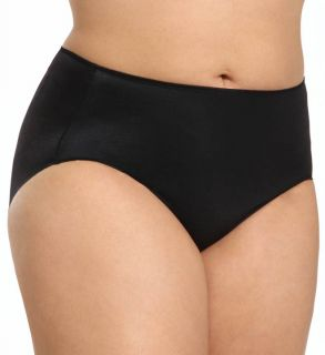 TC Fine Intimates A4 005 Microfiber Wonderful Edge Brief Plus Size Panties