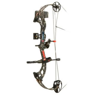 PSE Surge RTS Bow Package RH 29 70 lbs. Skullworks Camo 775949