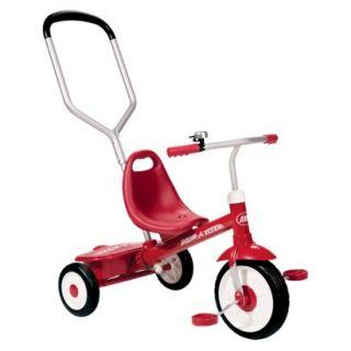Radio Flyer Kids Steer & Stroll Trike   Red