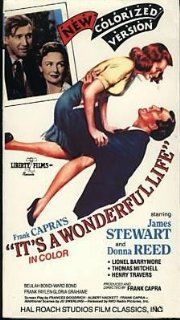 It's A Wonderful Life (colorized version) Donna Reed, Lionel Barrymore, Thomas Mitchell, Beulah Bondi, James Stewart Movies & TV