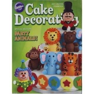 Wilton 2011 Yearbook, Cake Decorating UNASSIGNED SHELF