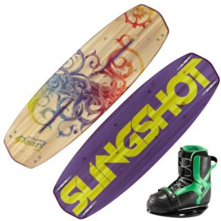 Slingshot Pearl Wakeboard With Jewel Boots 97511