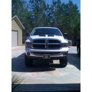 Dodge Ram Pickup With Xenon Bulbs Black Housing Headlights Headlamps Driver/P Automotive