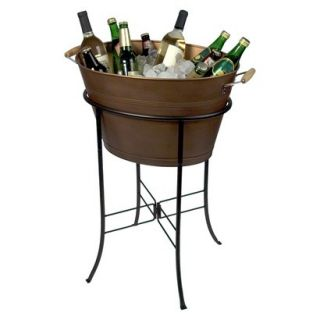 Artland Oasis Antique Copper Tub with Stand   Go