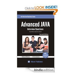 Advanced JAVA Interview Questions You'll Most Likely Be Asked eBook Vibrant Publishers Kindle Store