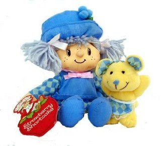 Strawberry Shortcake Scented Rag Doll   Blueberry Muffin Toys & Games