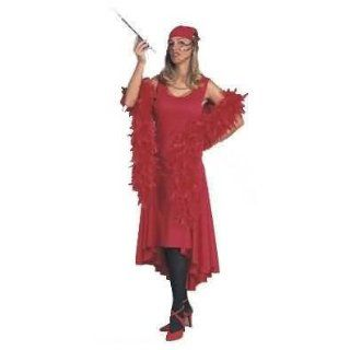 Black, Women Medium 8 10   Roaring 20s Authentic Looking Sophisticated Flapper Costume Dress: Adult Sized Costumes: Clothing